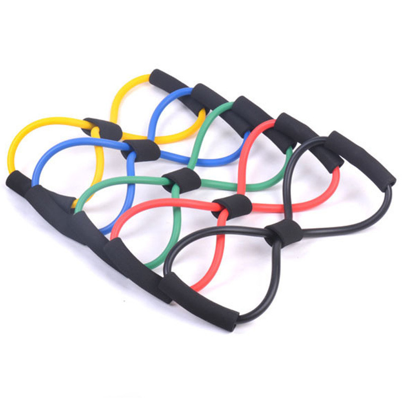 Fitness Resistance Bands stretching Training Chest Developer Rope Pulley for Women Chest Expander Wall Exercise Random