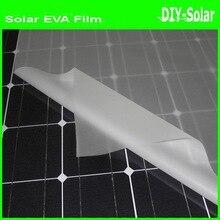 8m x width 680mm Solar EVA Film for solar cell encapsulation DIY solar cells panel lamination !!roll packaging not fold!!