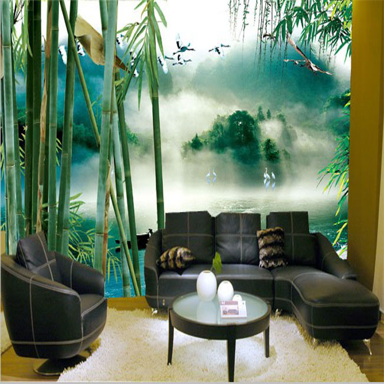 Beautiful Living Room Wallpaper Part - 46: Aliexpress.com : Buy Beautiful Forest Bathroom Wallpaper Living Room  Bedroom Decor Murals No Pollution Non Woven Wallpaper From Reliable  Bathroom Wallpaper ...