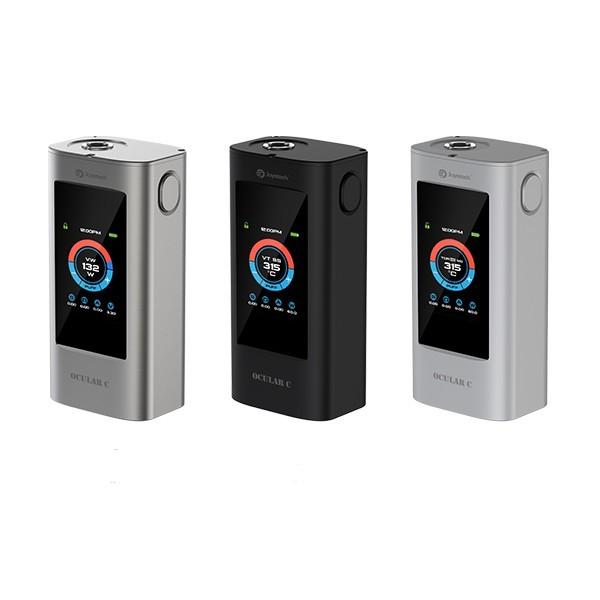 Pantalla táctil original joyetech ocular c mod 150 w tc caja de batería capacidad de memoria 2 GB VS laisimo mod bluetooth dos piezas 18650 células