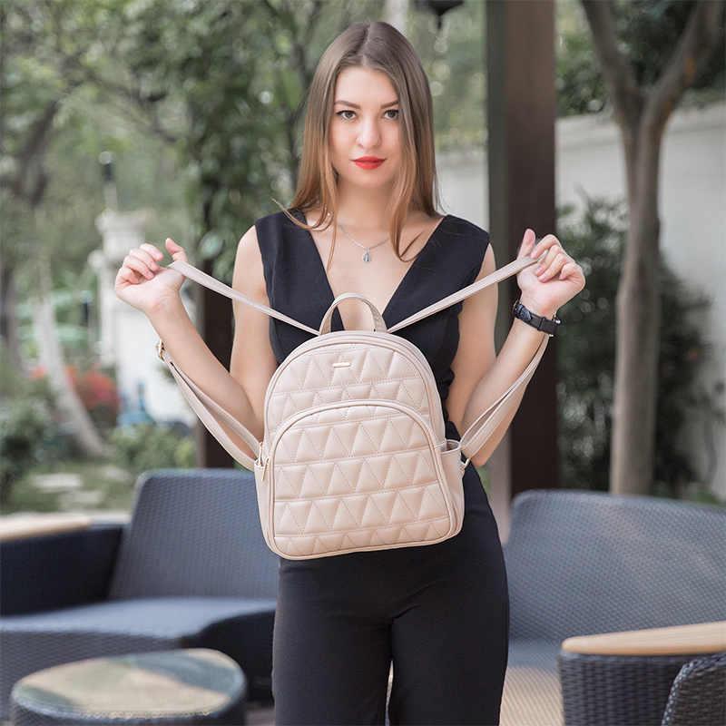 Женский маленький рюкзак LOVEVOOK, школьный портфель для девочек-подростков, модный рюкзак для выхода для лета, изготовлена из искусственной кожи, 2019