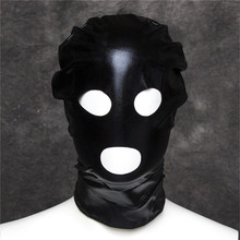 Взрослые игры глаза, рот разблокировали секс маска БДСМ маска секс-игрушки для взрослых садо Комплект Фетиш маска ведомого БДСМ секс игрушки для пар