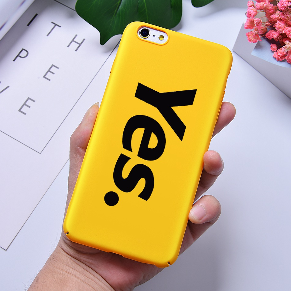 TOMKAS Funny Slogan Phone Case for iPhone 6 6S 7 8 Plus Case for iPhone X 6 S Yellow Back Cover Case for iPhone 7 Plus Coque (8)