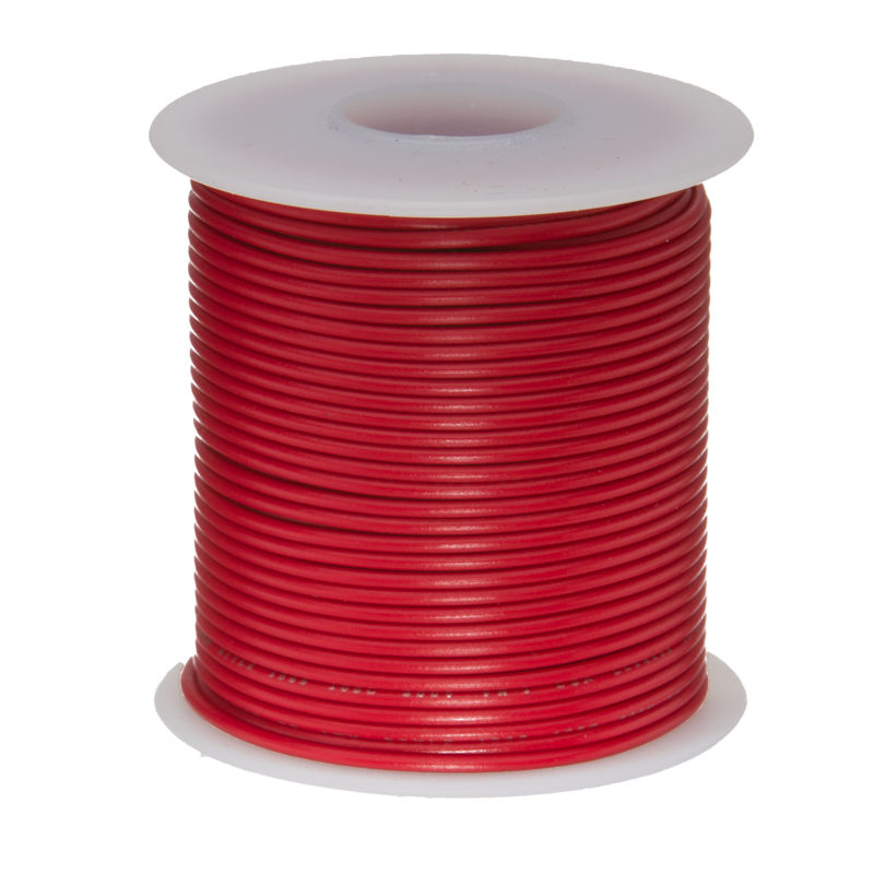 20M 20 AWG Tinned Stranded Copper Cables Red UL1007 PVC Electronic Wires Cable 300 Volts 30meters white 28awg ul1007 cable electronic wire to internal wiring electrical wires diy cables 100ft 28 awg