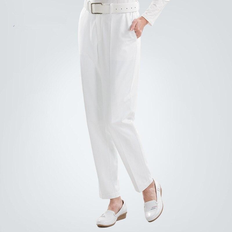 9e709212711 Aliexpress.com : Buy Women's White Nursing Pant Medical Scrub Pants Surgeon  Work Pants Hospital Nursing Uniforms Dental Mid Rise Fly Zipper Front from  ...