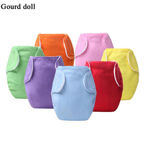 Newborn Baby cotton nappy changing liners cloth diaper insert cover Washable Reusable nappies training pants for