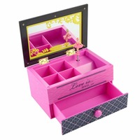 Love Girls Musical Jewelry Boxes Ballerina Hand Crank Carousel Music Box Gramophone Bride And Groom Wedding Birthday Gifts