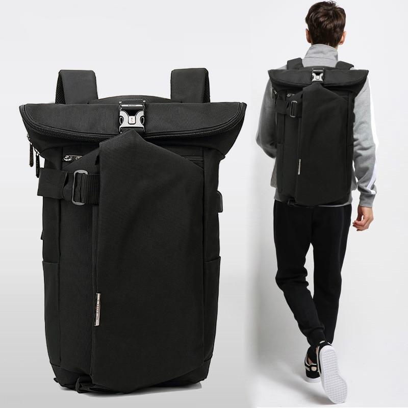 9dc316ce6 Homens da moda À Prova D' Água Anti Roubo Mochila Laptop de Carregamento  USB Grande Mochila de Viagem Mochilas Escolares Bagpack para Boy Masculino  em ...