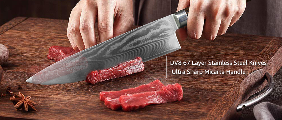 Japanese Super Stainless Steel Chef Knives