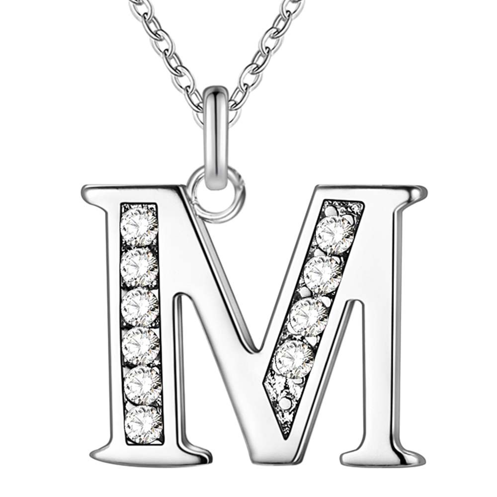 m letter in silver - photo #45