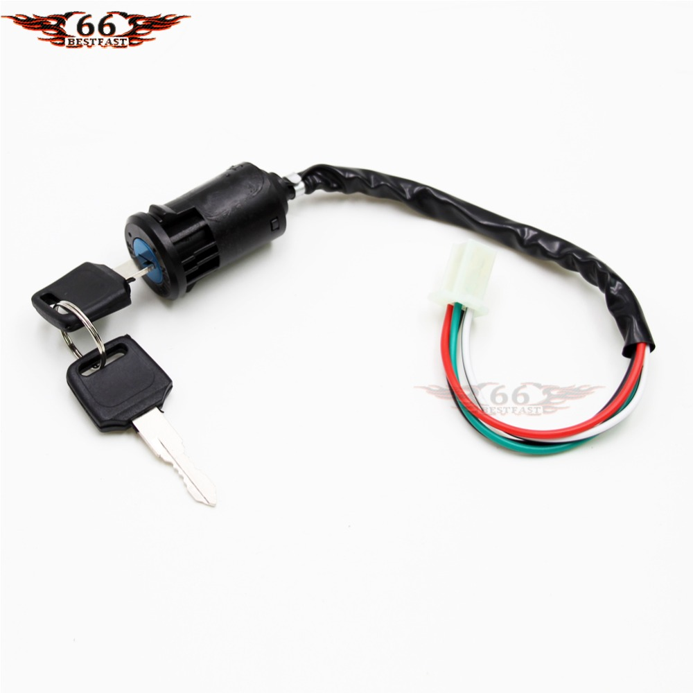 about 3 wire key ignition switch lock super pocket dirt bike atv 110cc pocket bike wiring diagram [ 1000 x 1000 Pixel ]