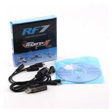 22 in 1 RC USB Flight Simulator Cable for Realflight G7 / G6 G5.5 G5 Phoenix 5.0