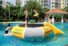 inflatable water/bungee trampoline, water bouncer