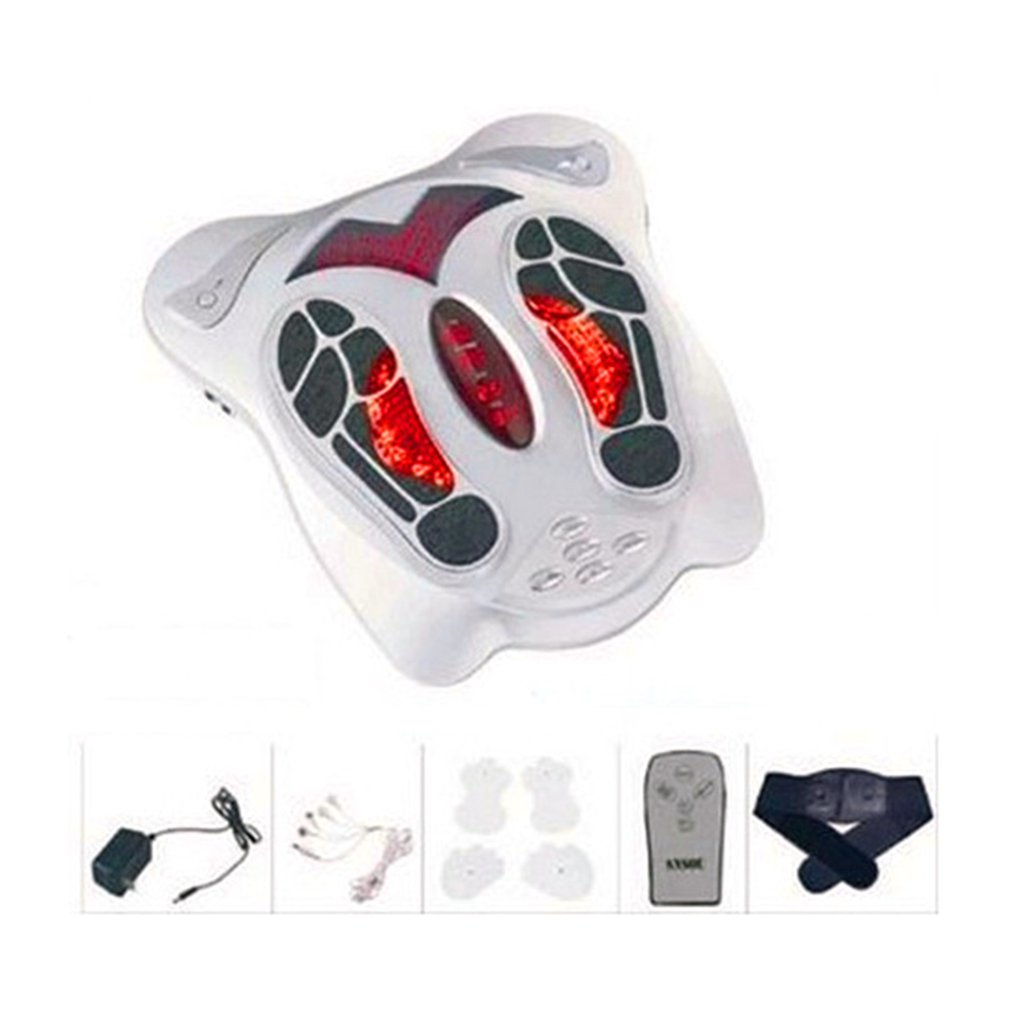 Электрический массаж ног антистресс массажер вибратор Массажная машина для ног инфракрасный прибор для ухода за ногами с нагревом и терапи