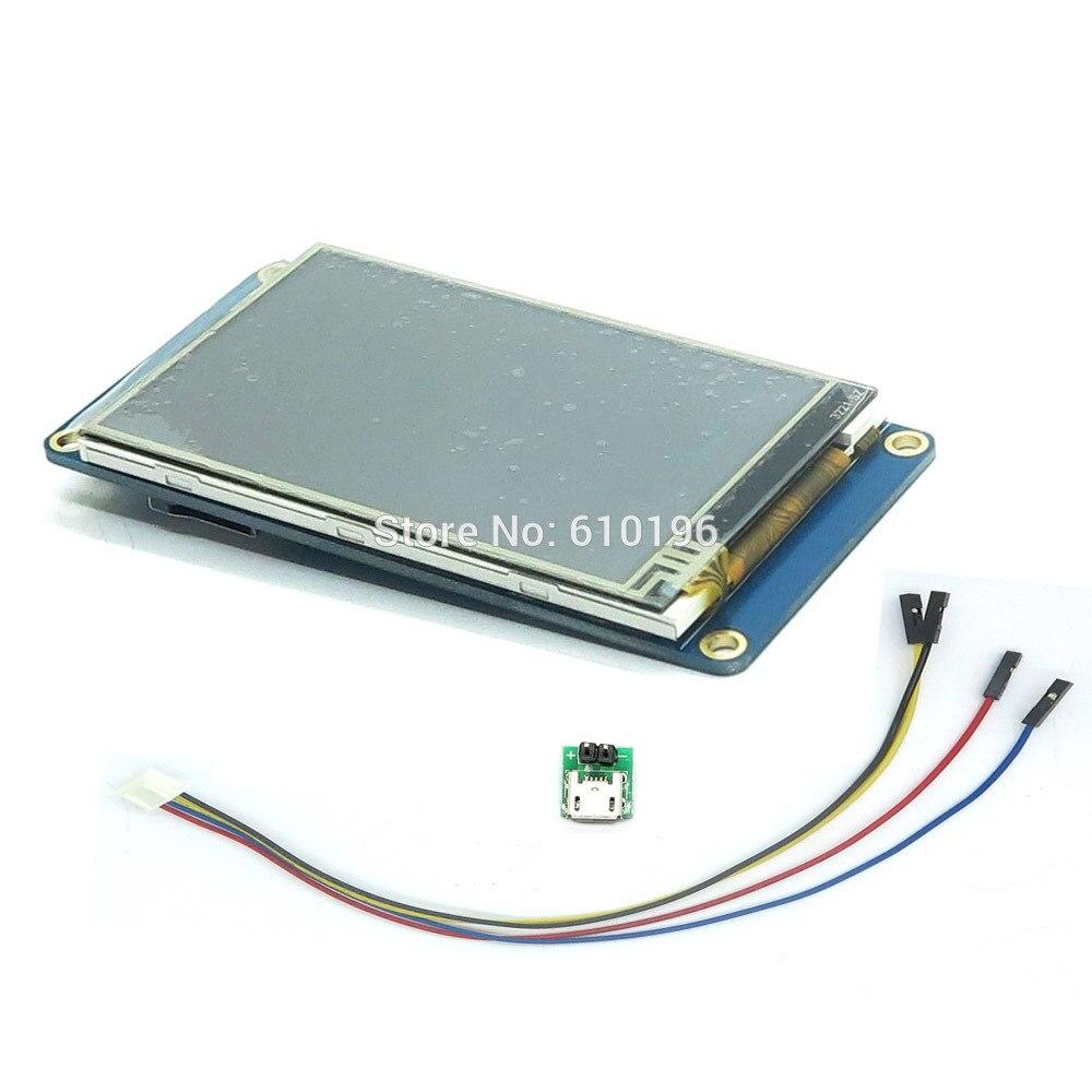 Nextion 3.2 «TFT 400X240 резистивный сенсорный экран TFT HMI ЖК-Дисплей Модуль TFT Сенсорная Панель для arduino raspberry pi