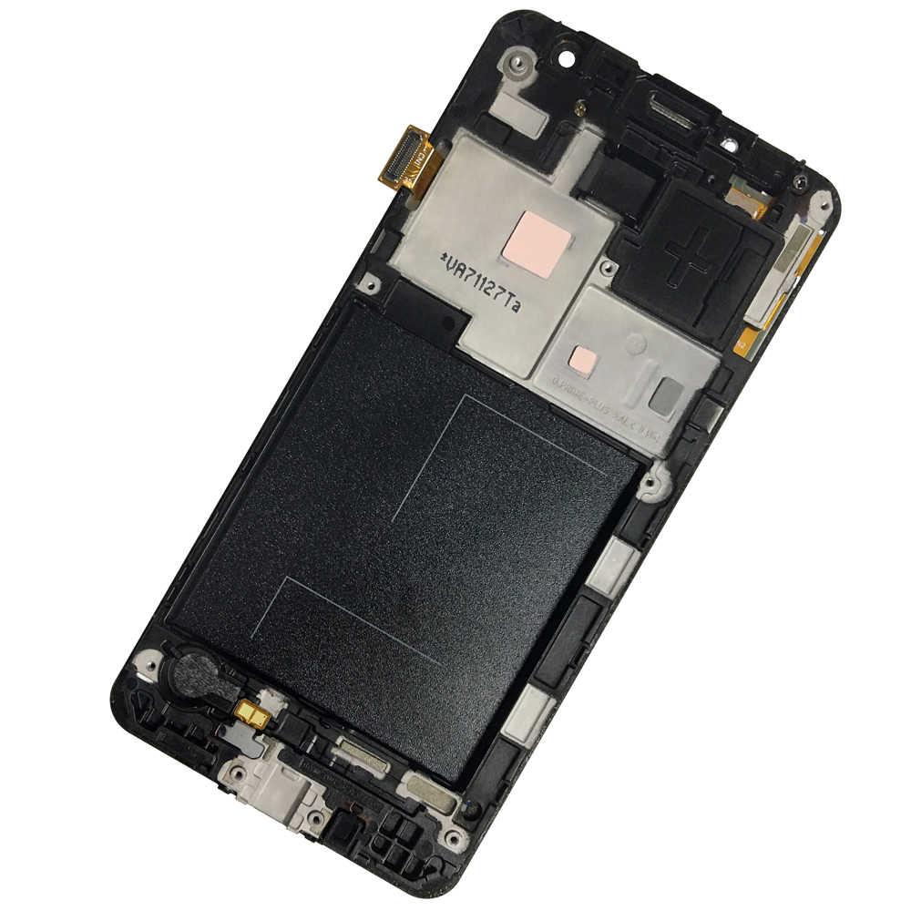 جديد شاشة الكريستال السائل لسامسونج غالاكسي J2 Prime G532 SM-G532 SM-G532F g55f شاشة الكريستال السائل + شاشة تعمل باللمس مع الإطار شحن مجاني