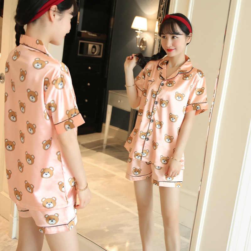 b603734ecc ... Women Nightgown Underwear. RELATED PRODUCTS. JRMISSLI Summer Women  Pajamas Sets Bear Printed Short Sleeve Cute Pajamas For Women Pijama Mujer  Pyjamas