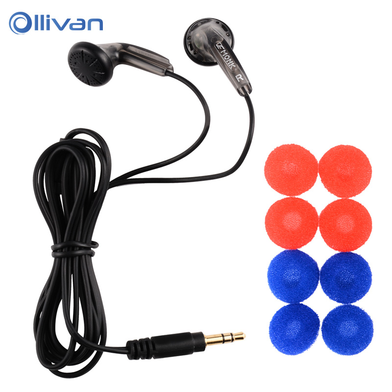 VE MONK Plus Earbuds Flat Head Earphone In Ear Stereo Earphones Noise Isolating Headset For Iphone6s 6 6plus 5s xiaomi