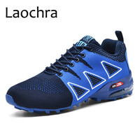 LAOCHRA Men Sneakers Summer Breathable Casual Shoes Mesh Men Shoes Hot Sale Trainers Men Fashion Shoes Plus Size 47