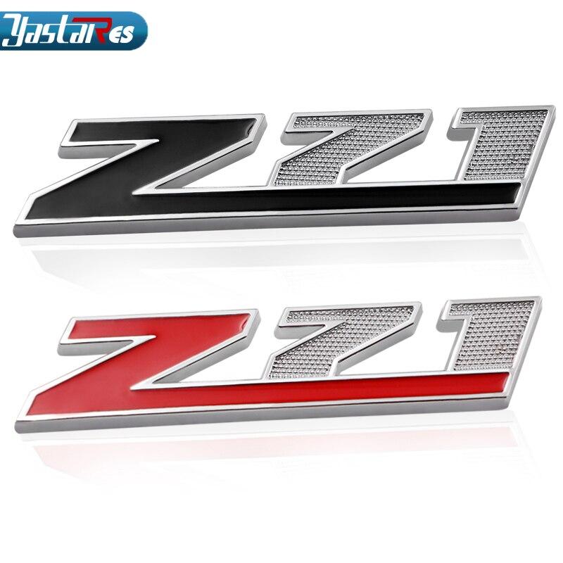 Z71 OFF ROAD Metal Red/Black Sticker Emblem Car Body Tailgate For Corvette Colorado Cobalt Silverado 1500 Badge 280 car styling
