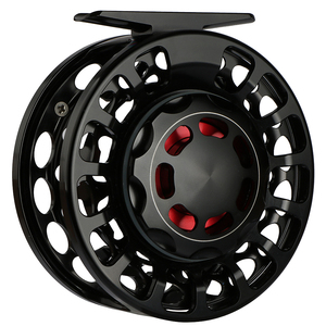 Goture Aluminum Alloy Large Arbor Fly Fishing Reel CNC Lightweight Fly Reel Coil 2+1 BB 3/5, 5/7, 7/9,9/10 WT For Fly Fishing