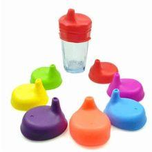 Креативные силиконовые крышки для детей, многоразовые силиконовые растягивающиеся герметичные чашки для детей, аксессуары для бутылок с водой