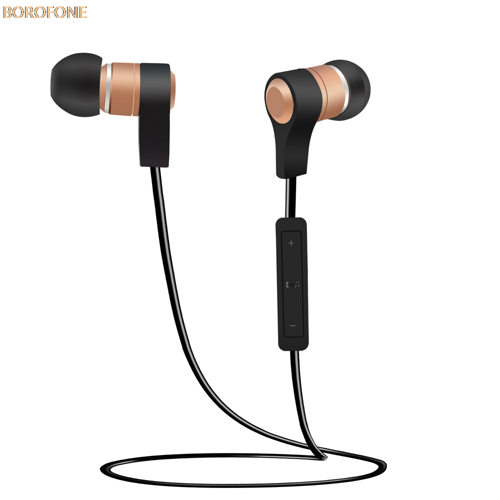 BOROFONE Wireless Bluetooth Headset Sport Stereo Headphone Earphone For iPhone stereo music Volume control Noise cancellation