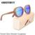 Óculos de Sol De Madeira de grandes dimensões Moda Ladies Eyewear oculo de sol Feminino óculos de Sol Das Mulheres Designer de Marca Óculos de Mulheres de Luxo