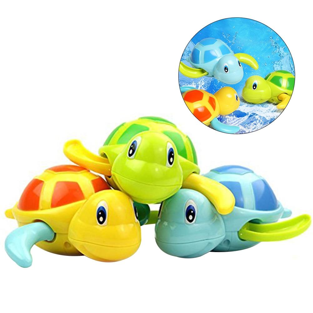 3pcs Baby Bath Time Fun Turtle Plastic Bathtub Tortoise Toys ...