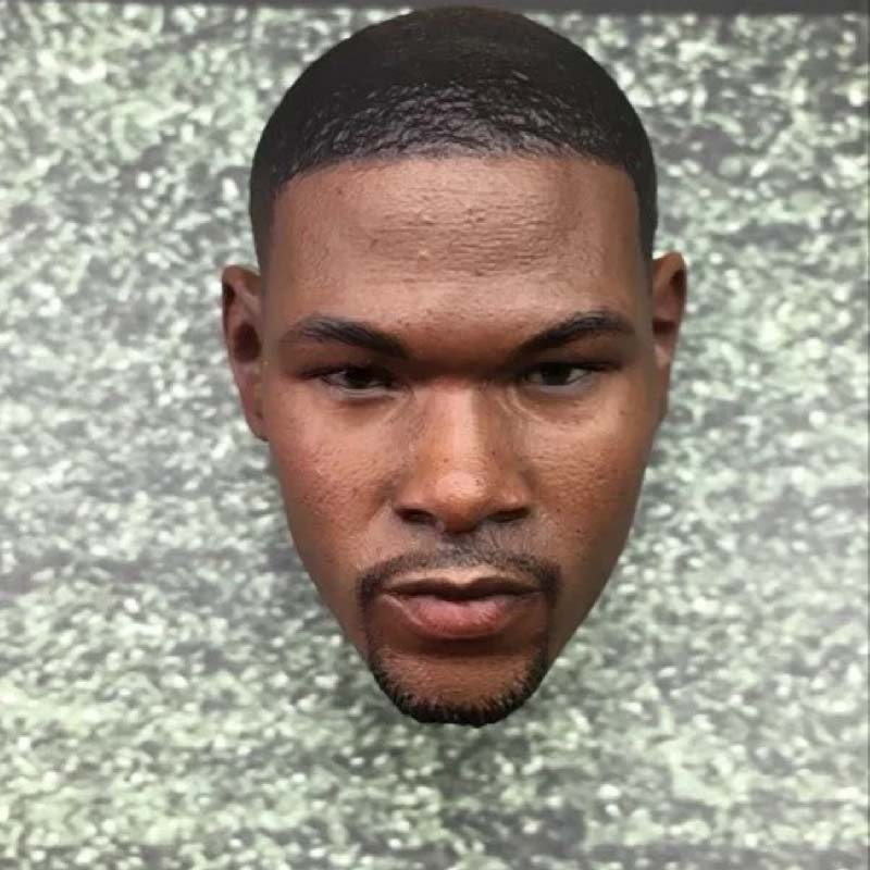 Mnotht 1:6 Scale Calm Durant Head Carving Model Black Men Soldier Head Sculpt For 12in Action Figures Collections Hoobies m3 mnotht new 1 6 scale siberian husky model simulation animal pet dog model toys for 12in soldier toy scene collections hobbies