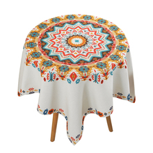 National style round coffee table cloth small