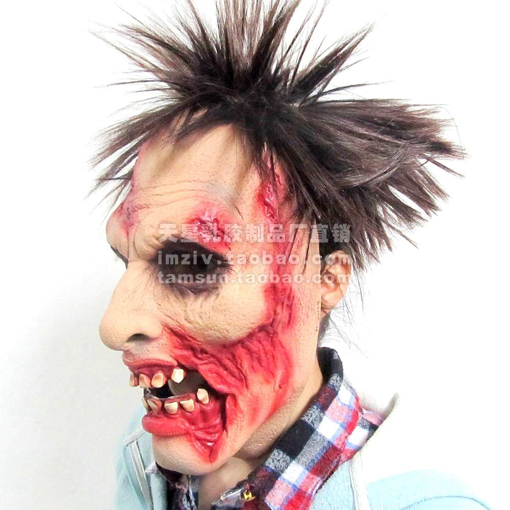 Popular Halloween Zombie Mask-Buy Cheap Halloween Zombie Mask lots ...