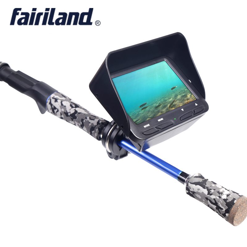 Video camera fish finder with 4.3'' LCD screen 2.0mega HD underwater Lens 30m cable fish locator for ice fishing boat fishing