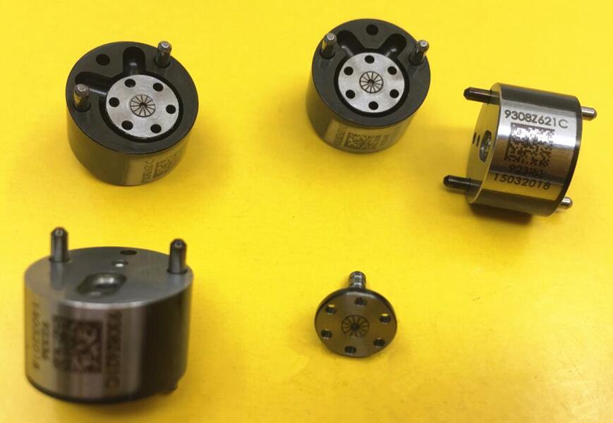 1 stück Schwarz Regelventile 9308Z621C 28239294 9308-621C 28440421 für Delphi Diesel Common-rail-injektor Ventile