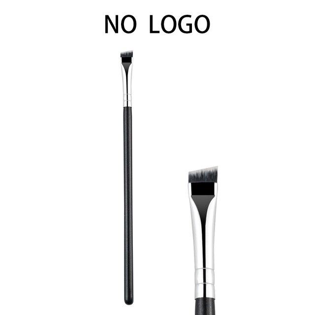 BEILI keine logo Schwarz Professionelle Stirn Pinsel Eye liner Make Up Tool Synthetische Haar Einzigen flügel liner Make Up Pinsel