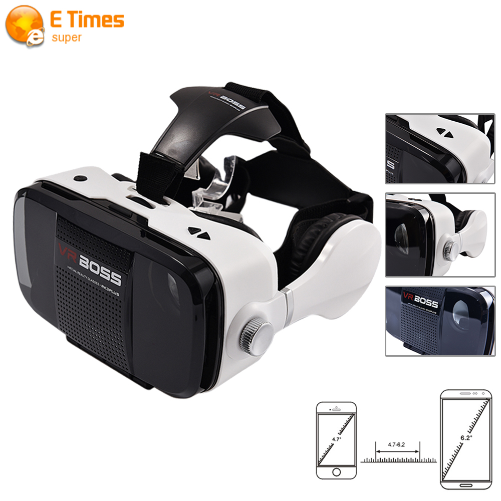 High Quality Google cardboar Virtual Reality World 3D glasses Z5 font b VR b font BOSS