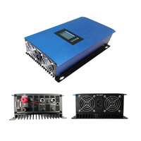 1000W LCD SOLAR GRID TIE INVERTER MPPT PURE SINE WAVE WITH LIMITER FUNCTION AC110V/ 230V BATTERY DISCHARGE POWER