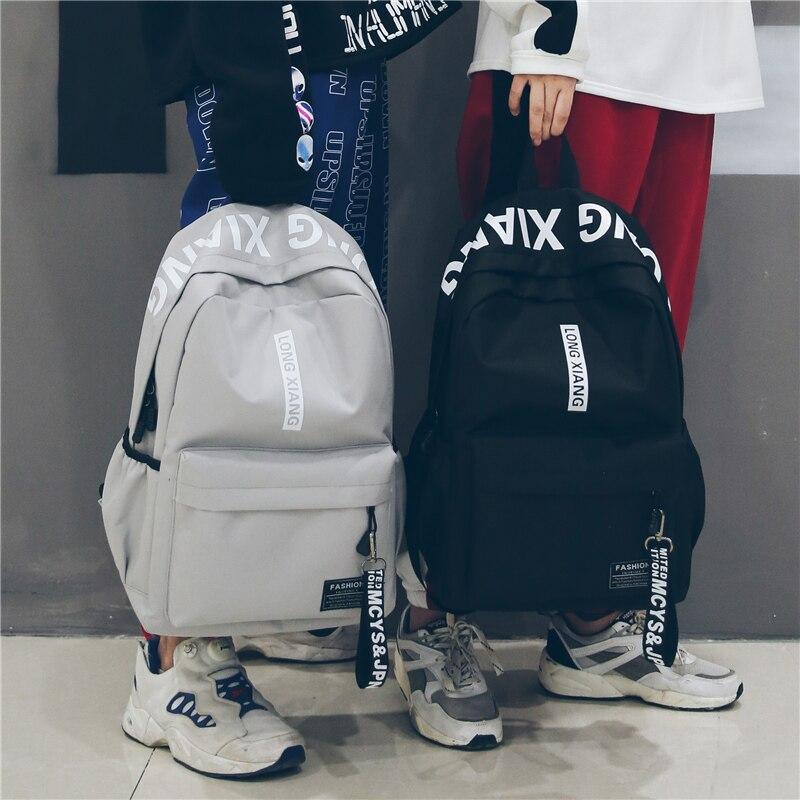 Men Women Backpack School Bag For Teenagers Harajuku New Fashion College Waterproof Oxford Travel Bag Ulzzang Laptop Back Packs brand design women men backpack leisure college school bag for teenagers men travel bags waterproof nylon laptop backpacks