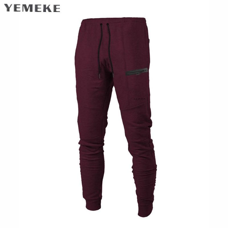 YEMEKE 2018 New Arrivals Pantalones Hombre Men's Casual Pants & Trousers Harem Cargo Mens Joggers Male Sweatpants