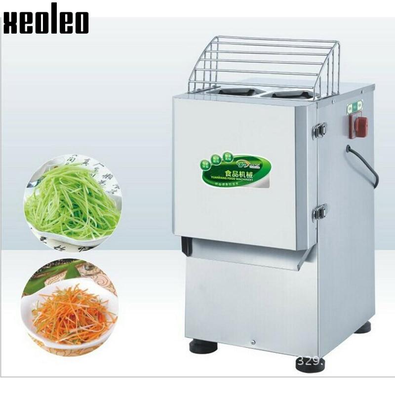 Xeoleo Shredding machine Slicing machine for Potatoes/cucumber/radish/Fruits Slicer Vegetable Shredded machine Stainless steel