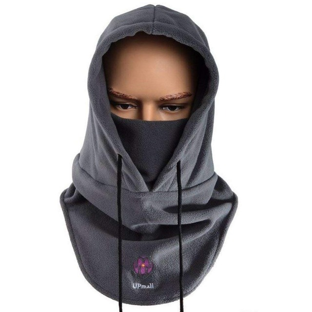 Winter Couple Hat Tactical Balaclava Ski Face Mask Fleece Hood Hat Sports Mask Warm Windproof Neck Thermal Men Woman Hat