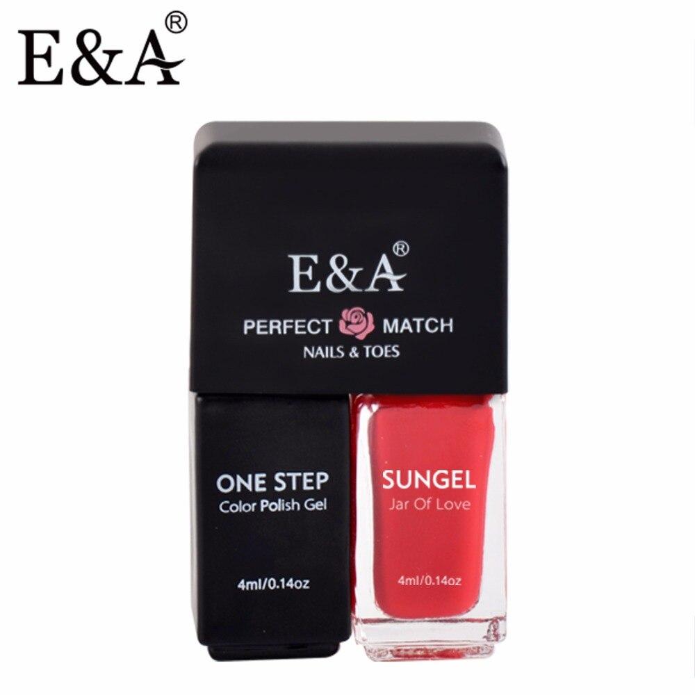 EA 4ml Set de gel pentru unghii de unică folosință pentru gel de manichiură și pedichiură