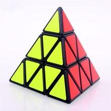 Первоначально циклона мальчиков и shengshou pyraminx Magic Speed Cube пирамида Cubo Magico профессиональные Головоломки образование игрушки для детей