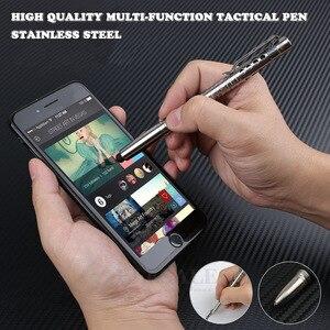 Image 1 - Multi Funktion Selbstverteidigung Tactical Pen Mit Touch Screen Stylus Notfall Glas Breaker Outdoor Überleben EDC Werkzeug Geschenk Box
