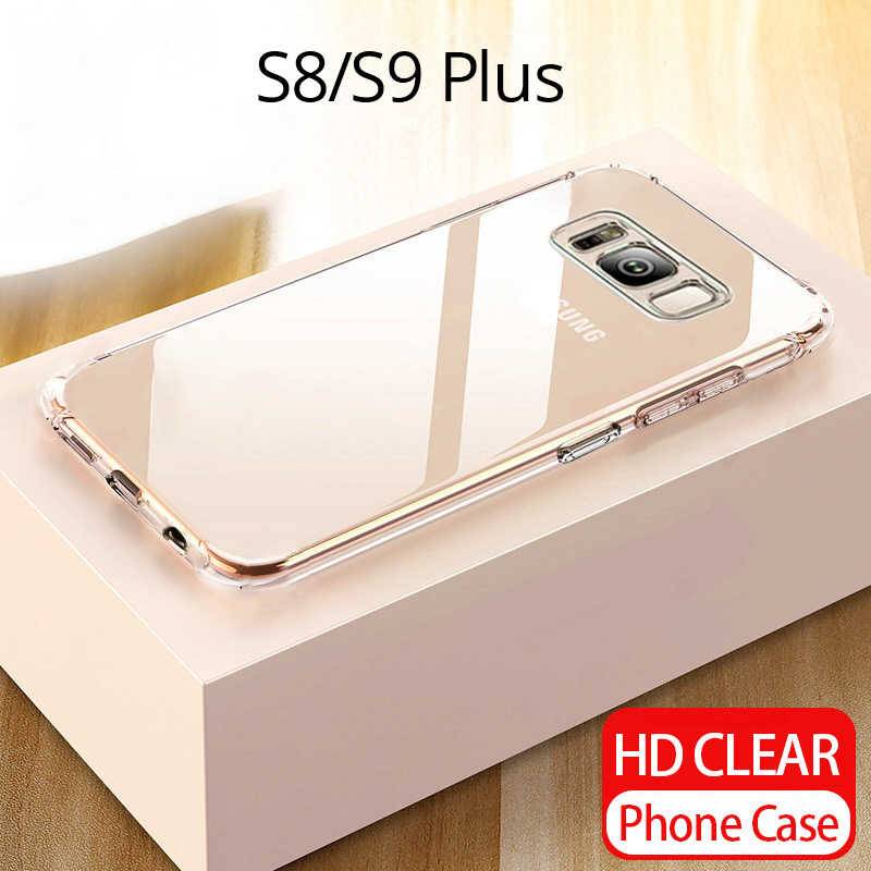 Case For Samsung Galaxy Note 9 8 S9 S8 A8 S10 Plus S3 S4 S5 S6 S7 Edge Clear Soft TPU Cases For Samsung S10 Lite A9 A9 Star A9S