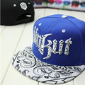 New Cool Unisex Men Women Adjustable Snapback Hip-pop Cap Baseball Hats Black