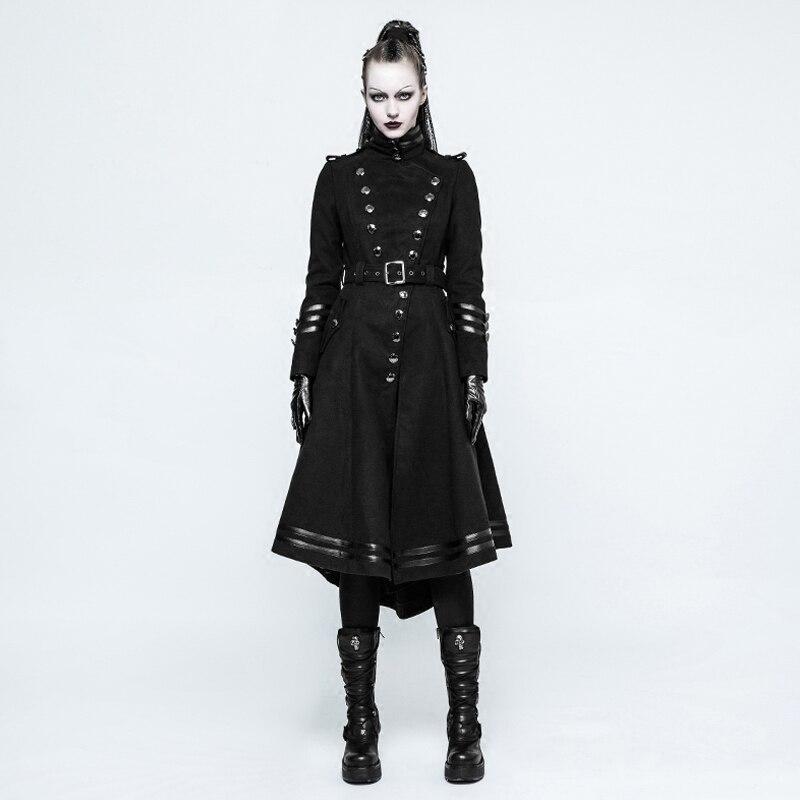 Manteau gothique femme long