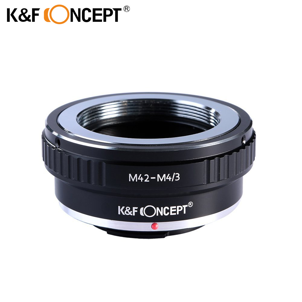 K&F CONCEPT M42-M4/3 Lens Adapter Ring for M42 Lens to Micro M4/3 Camera GF1 GH2 G3 GH3 GX1 EP1 EP2 EP3 EM5