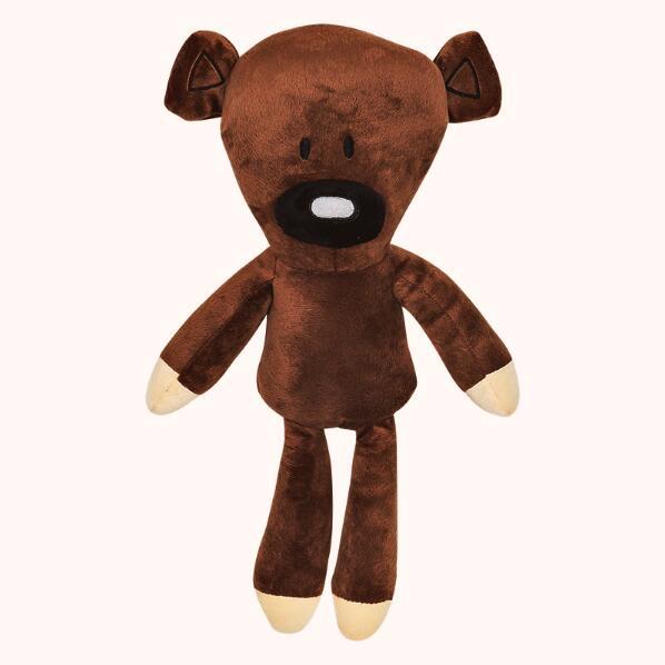 Горячая 30 см мягкие плюшевые куклы творческий Мистер Бин Мишка стильная футболка с изображением персонажей видеоигр плюшевые куклы Забавн...