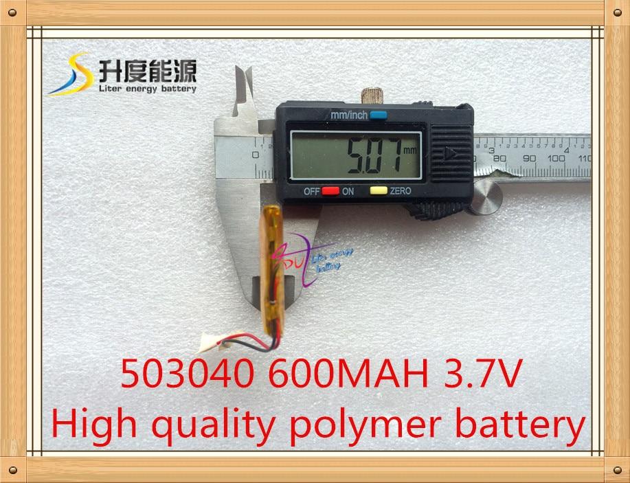 053040 600MAH tovarna polimernih baterij direktno polimernih - Dodatki za tablične računalnike - Fotografija 3
